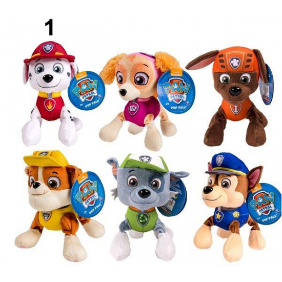 Cartoon pluche Paw Patrol Marshall 15 cm thumbnail
