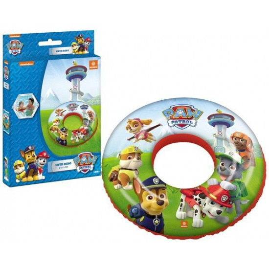 Cartoon zwemband Paw Patrol rood thumbnail