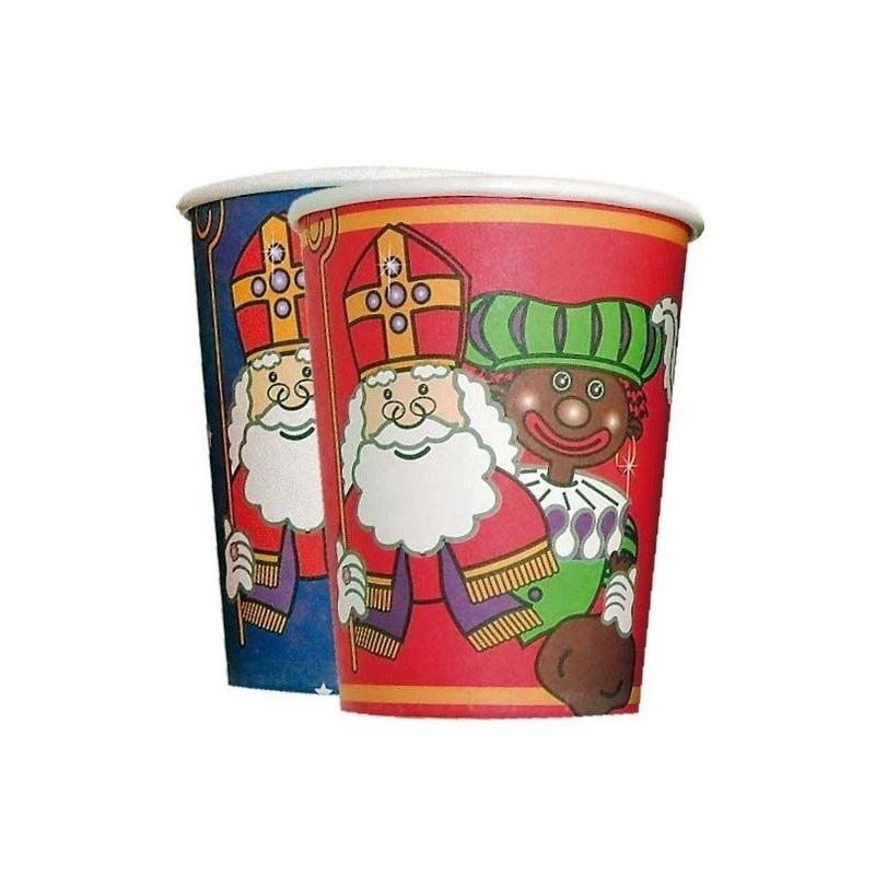 Feest Kartonnen bekers Sinterklaas thumbnail
