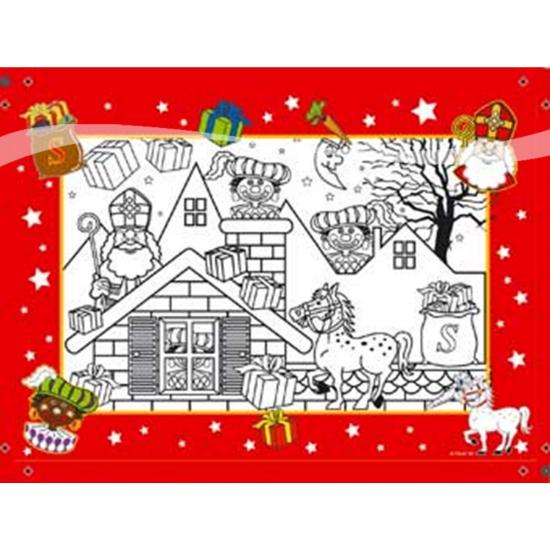 Feest Kleurplaten Sinterklaas thumbnail