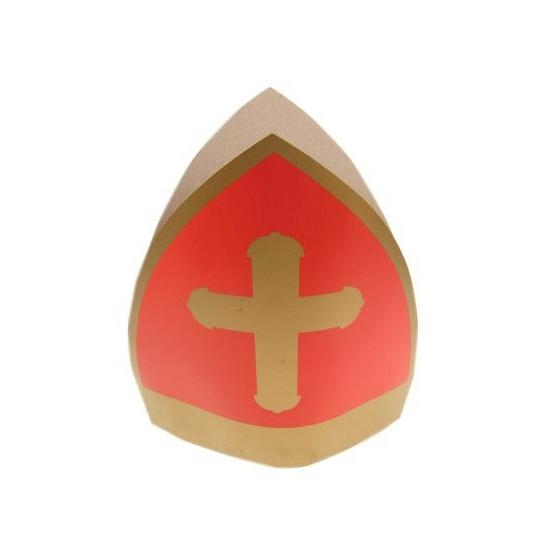 Feest Sinterklaas mijter karton thumbnail