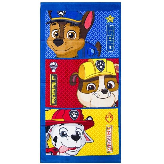 Handdoeken van Paw Patrol Chase, Rubble en Marshall thumbnail