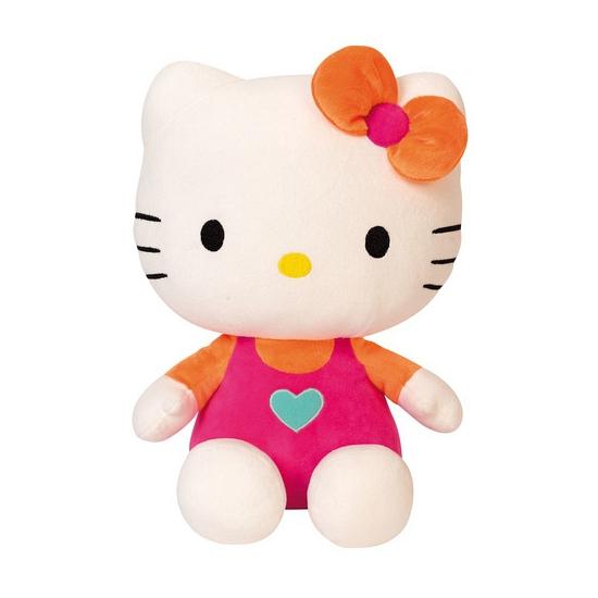 Hello Kitty knuffel poes roze 30 cm