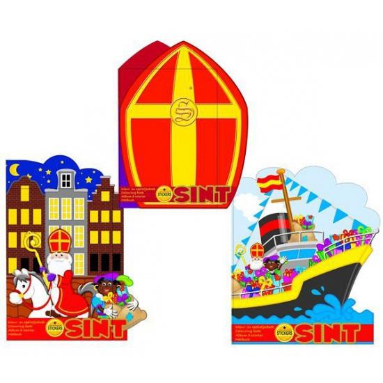 Kleurboek Sinterklaas stoomboot thumbnail