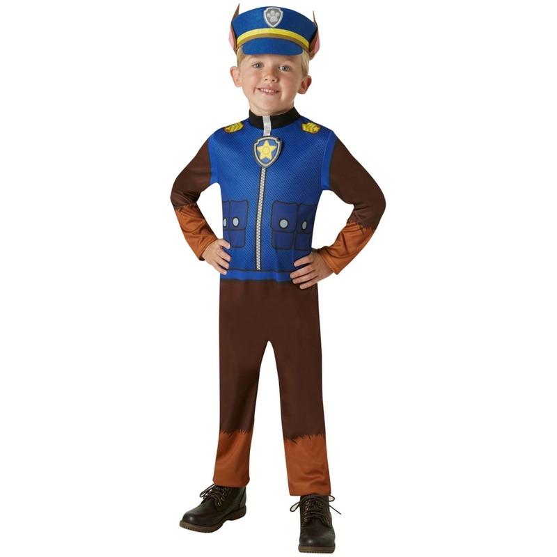 Paw Patrol kostuum Chase voor kids thumbnail