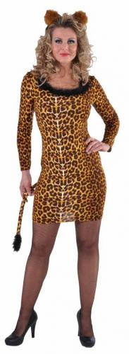 Sexy luipaarden jurkje voor dames