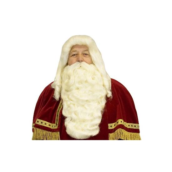 Sinterklaas baard, pruik en snor thumbnail