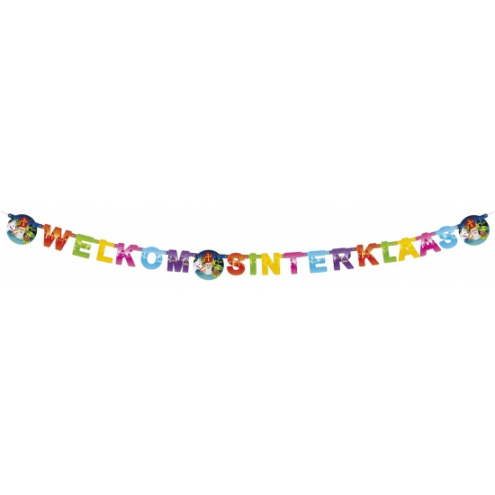 Sinterklaas decoratie letterslinger thumbnail