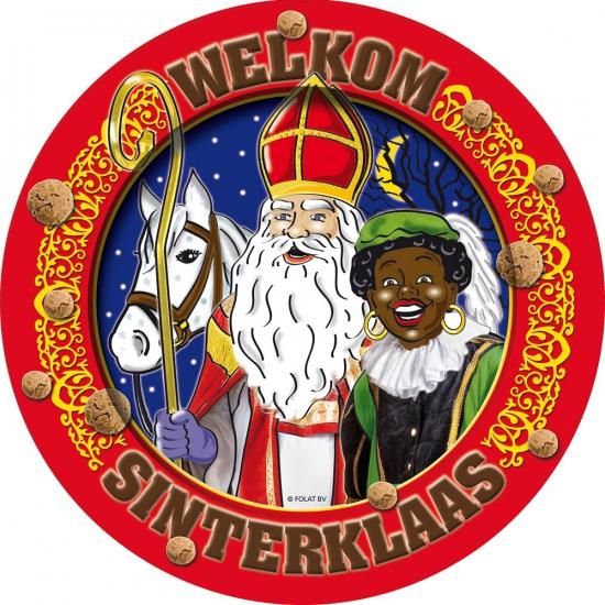 Sinterklaas feestbordjes 8 stuks thumbnail