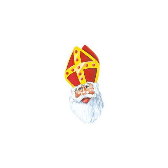 Sinterklaas maskertje van karton thumbnail