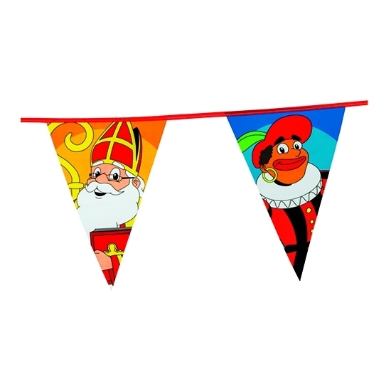 Sinterklaas vlaggenlijn XXL 6 meter thumbnail