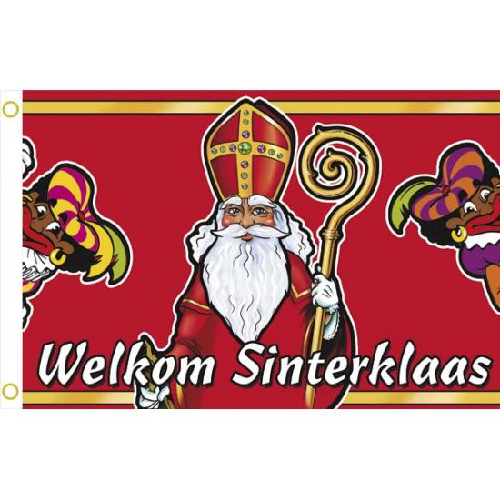 Sinterklaas welkomst vlaggen thumbnail