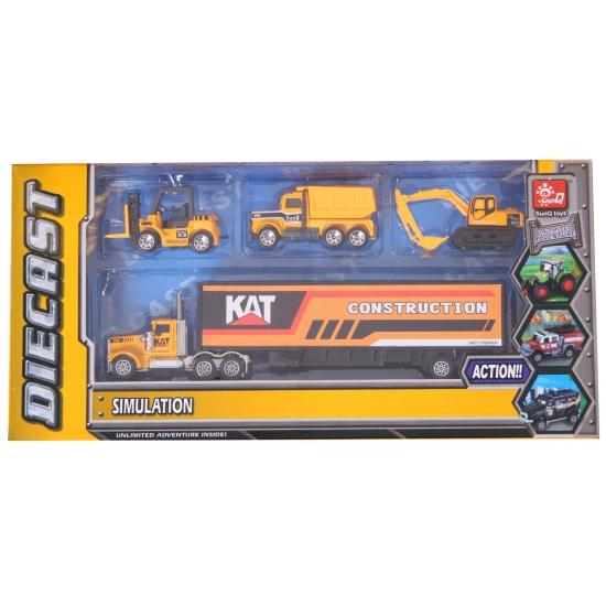 182463263Speelgoed bouw trucks set