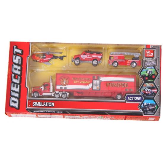 182463260Speelgoed brandweer set