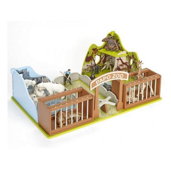205497308Speelgoed dierentuin van plastic