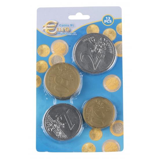175476777Speelgoed Euro munten plastic