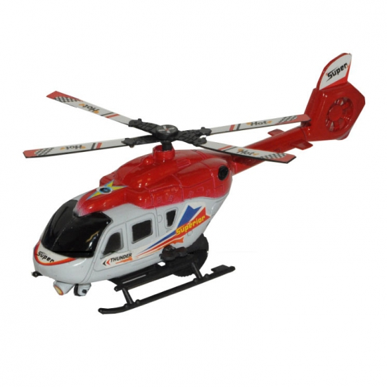 185178590Speelgoed helicopter rood 21 cm