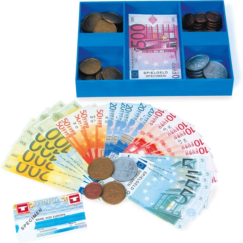 182463341Speelgoed kassa geld
