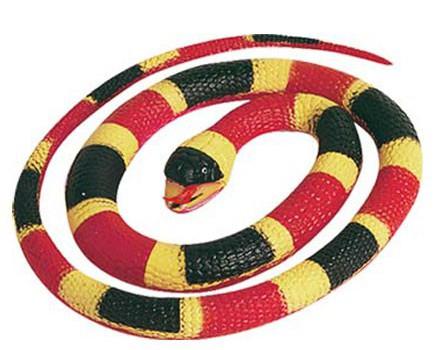 194594358Speelgoed slangen koraal 66 cm