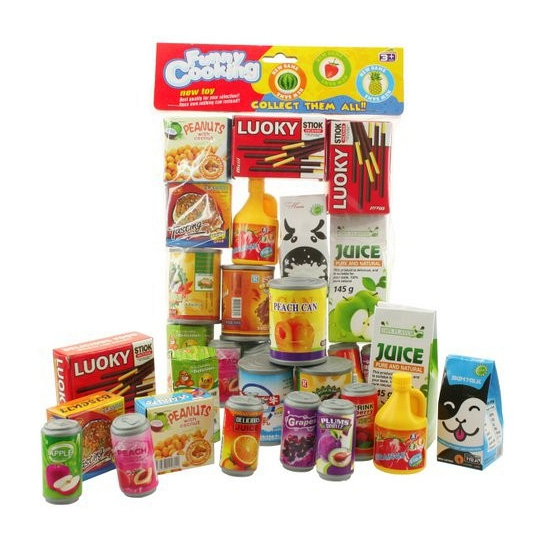 170130945Speelgoed supermarkt voedsel pakket