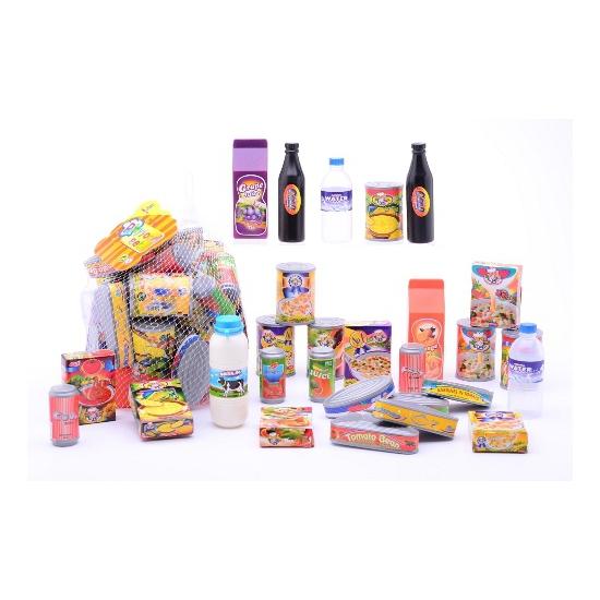 174682608Speelgoed supermarkt voedsel pakket