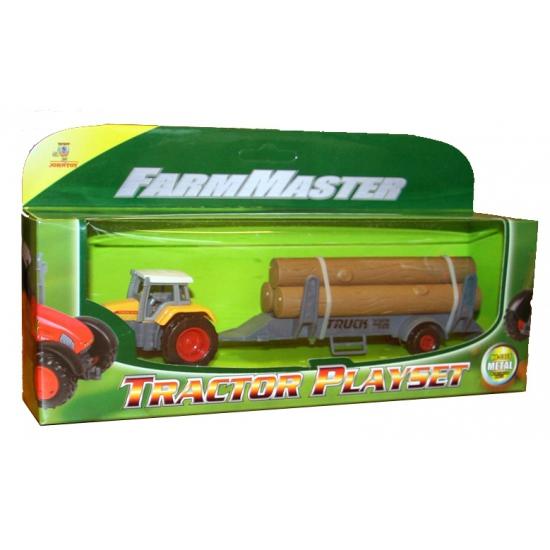 206761687Speelgoed tractor geel