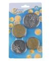 175474309Speelgoed Euro munten plastic