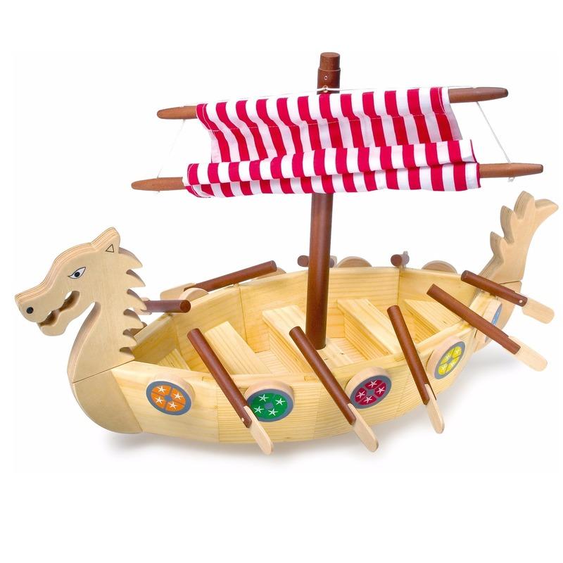 Speelgoed viking schip