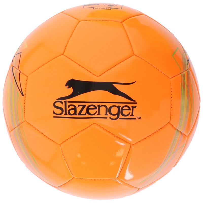 Speelgoed voetbal oranje 21 cm/maat 5 voor kinderen/volwassenen