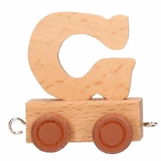 Trein met de letter G
