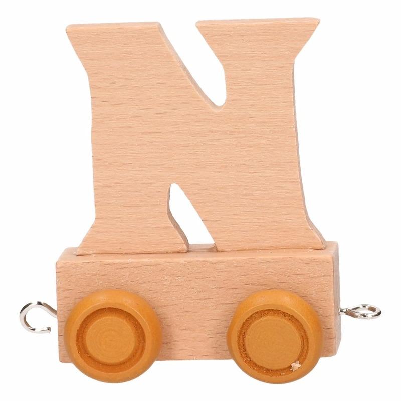 Trein met de letter N