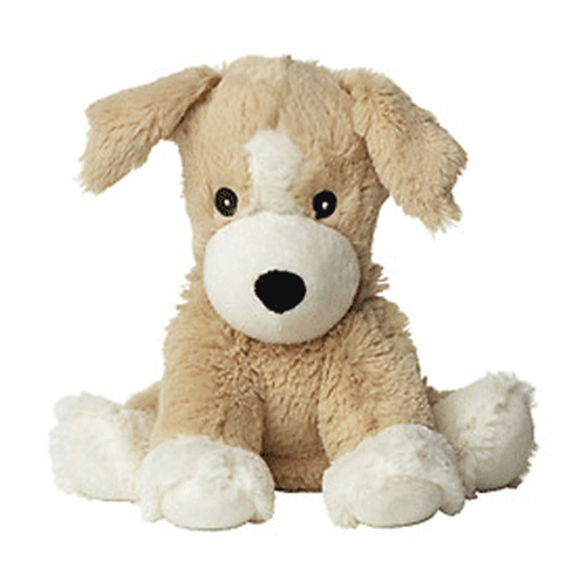 Warmteknuffel honden puppy 34 cm knuffels kopen