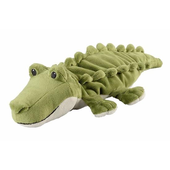 Warmteknuffel krokodil groen 35 cm knuffels kopen
