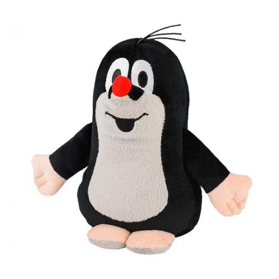 Warmteknuffel mol zwart/wit 19 cm knuffels kopen