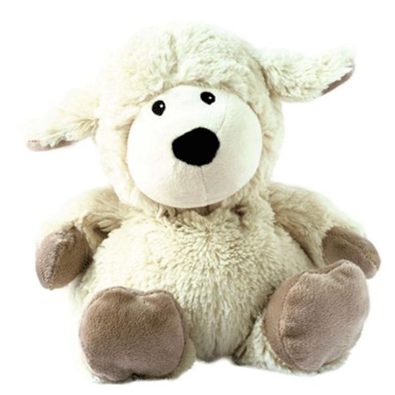 Warmteknuffel schaap wit 33 cm knuffels kopen