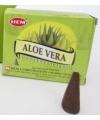 10 kegeltjes wierook Aloe vera geur