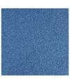 1x stuks blauw glitter papier vellen 30.5 x 30.5 cm
