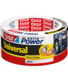 1x Tesa ducttape Extra Power universeel wit 25 mtr x 5 cm klusbenodigdheden