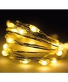 2x Micro kerstverlichting warm wit 60 lampjes