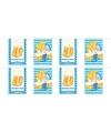 2x Oktoberfest/bierfeest vlaggenlijnen/slingers rechthoekig 10 m