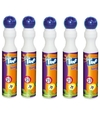 5x Blauwe bingostift/markers 43 ml