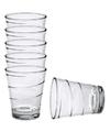 6x Drinkglazen/waterglazen transparant 350 ml Glasgow