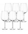6x Luxe wijnglazen 440 ml Plaza