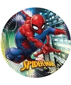 8x Marvel Spiderman themafeest bordjes 23 cm