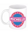 Beker met de naam Michelle 0,3 l