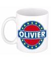 Beker met de naam Olivier 0,3 l