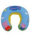 Blauwe Peppa Pig Nickelodeon nekkussen/reiskussen voor jongens