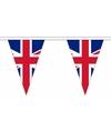 Britse vlaggenlijn van stof 5 m