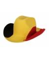 Cowboy hoeden Belgie voor volwassenen