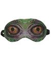 Dieren slaapmasker/oogmasker slang/reptiel